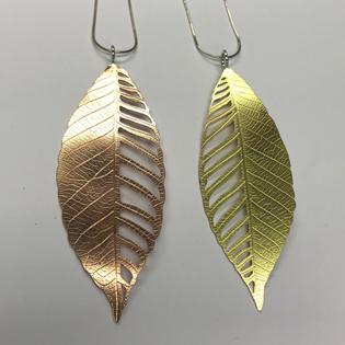 roll print leaves